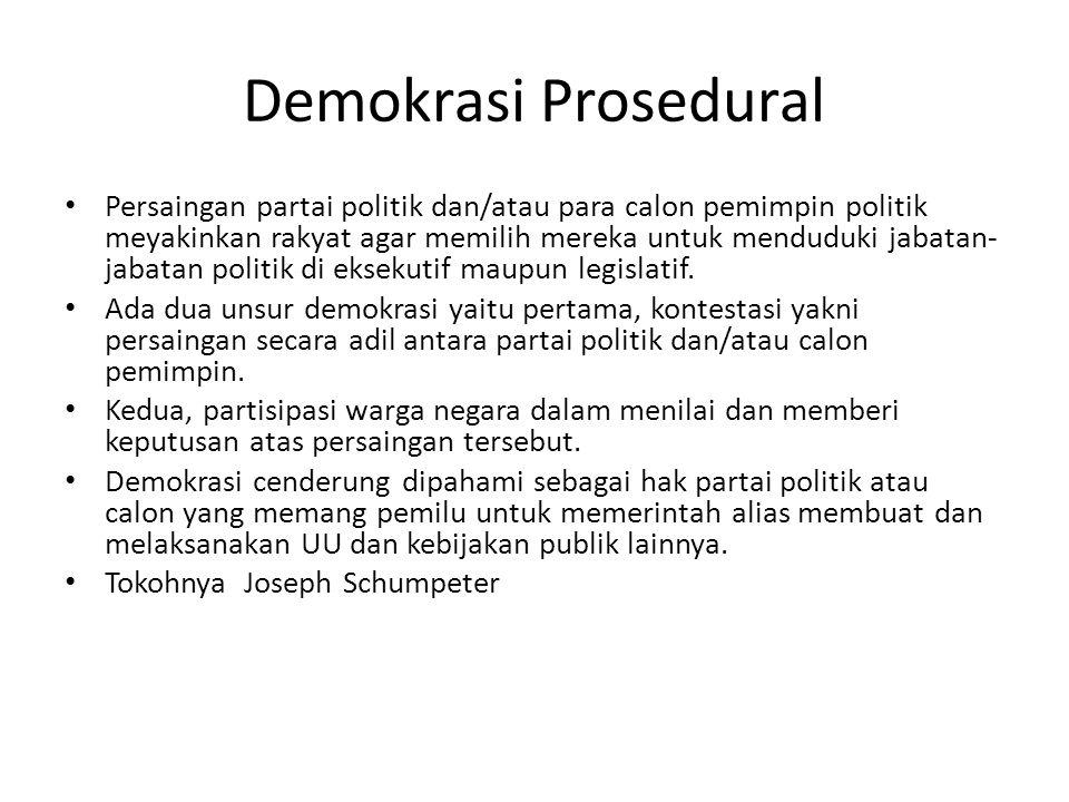 Demokrasi Prosedural