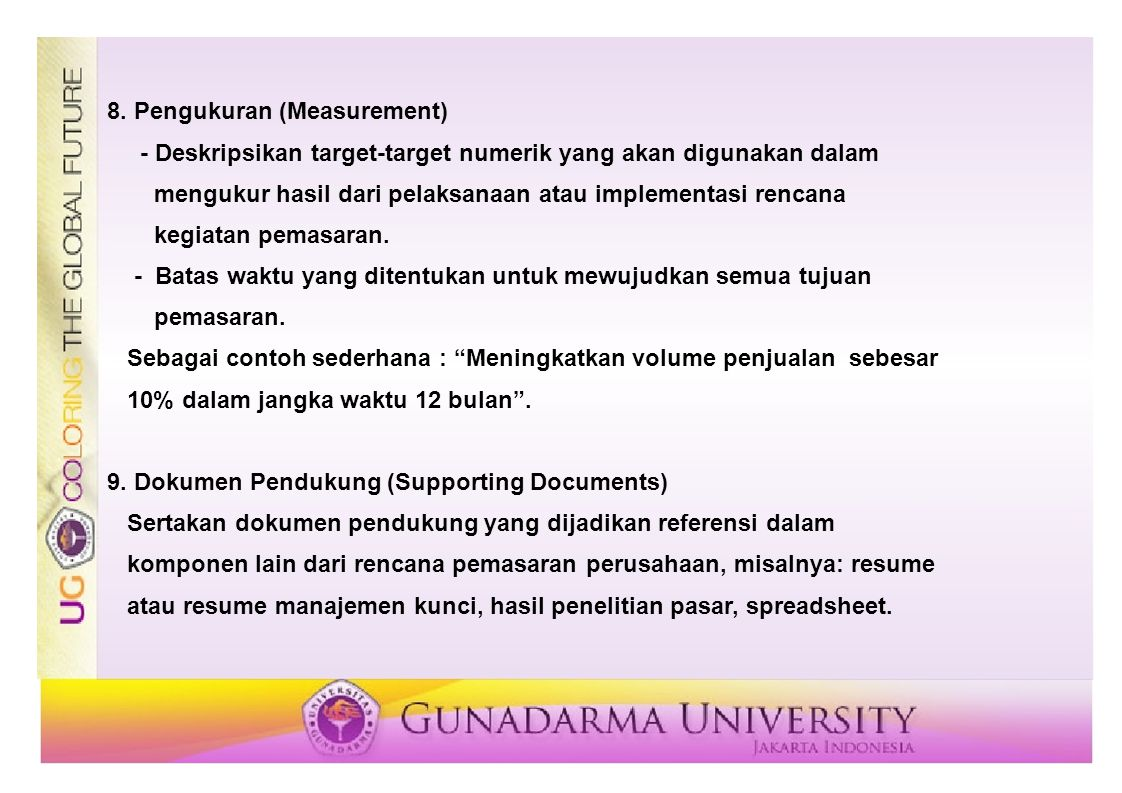 8. Pengukuran (Measurement)