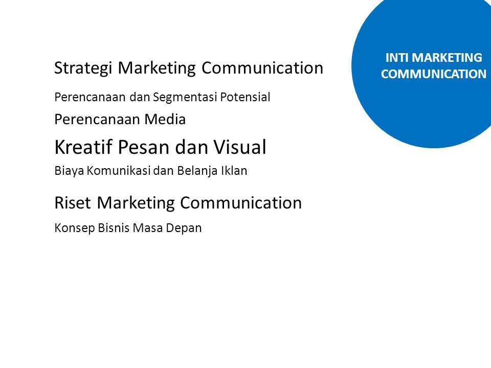INTI MARKETING COMMUNICATION