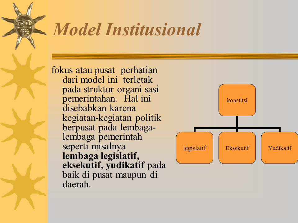 Model Institusional