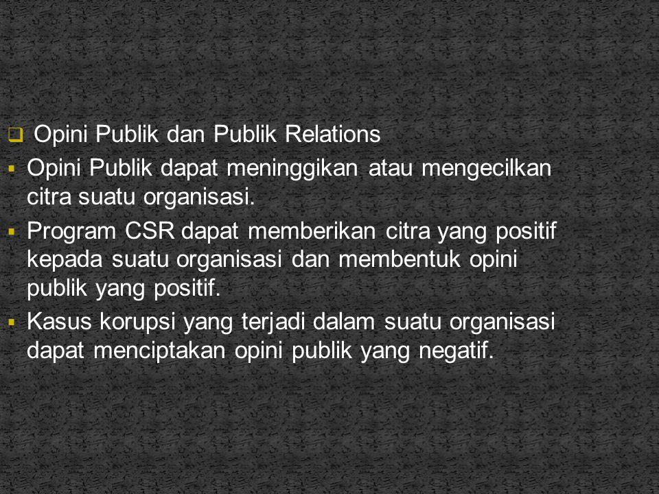 Opini Publik dan Publik Relations