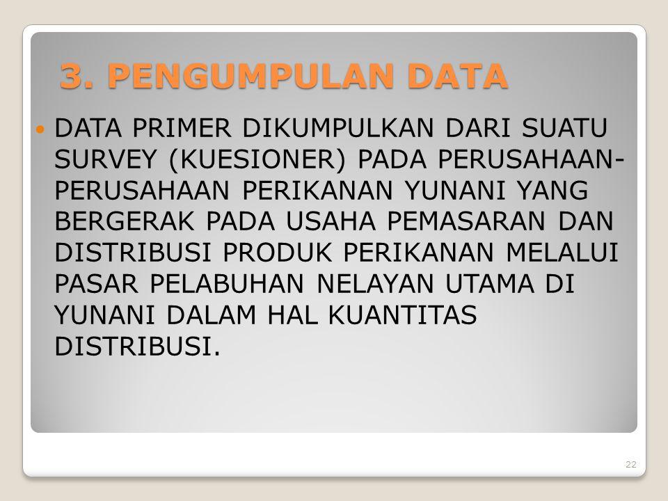 3. PENGUMPULAN DATA
