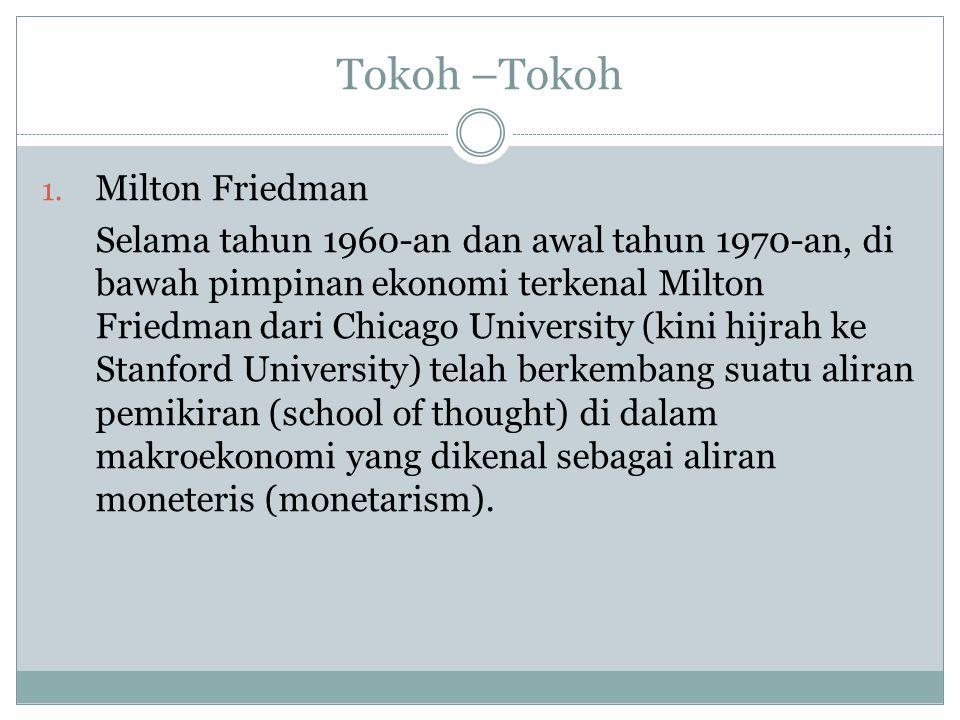 Tokoh –Tokoh Milton Friedman