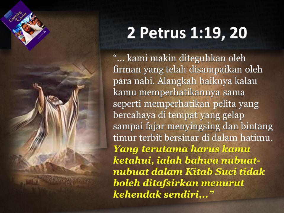 2 Petrus 1:19, 20
