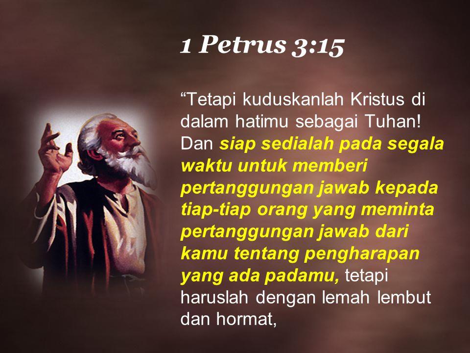 1 Petrus 3:15