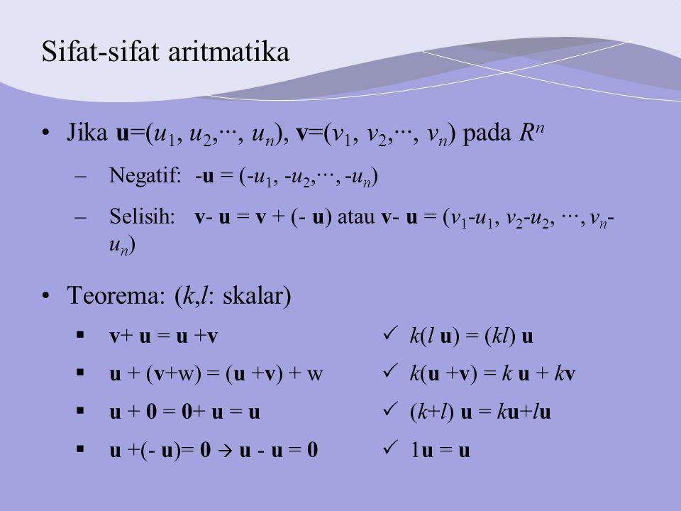 Sifat-sifat aritmatika