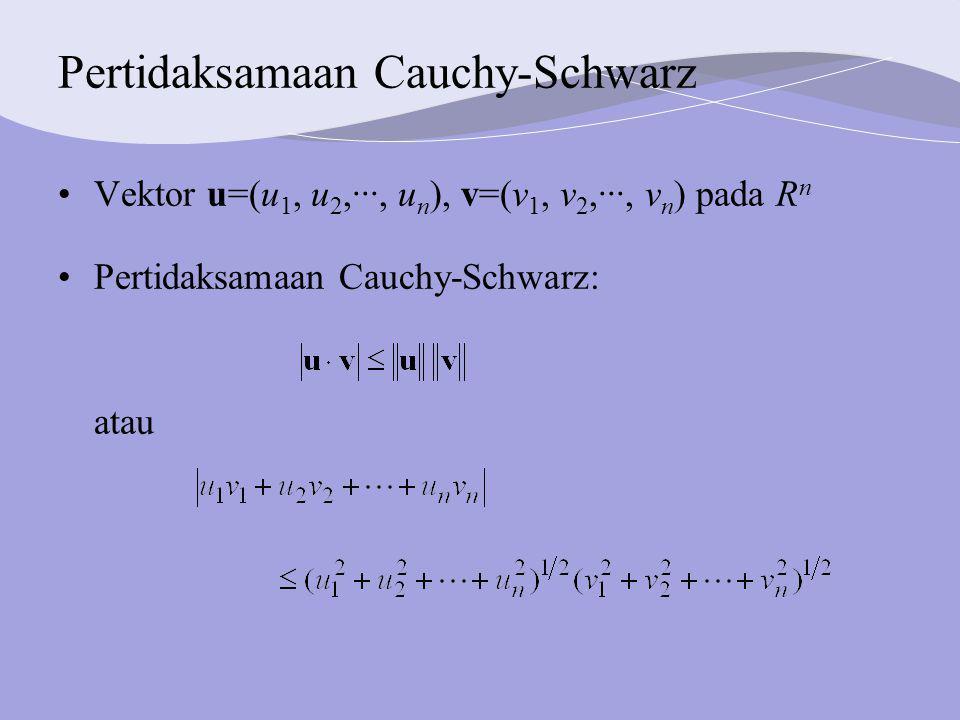 Pertidaksamaan Cauchy-Schwarz