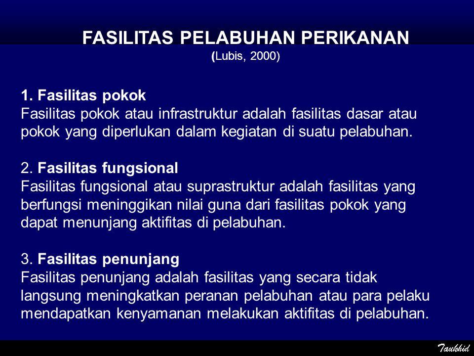 FASILITAS PELABUHAN PERIKANAN