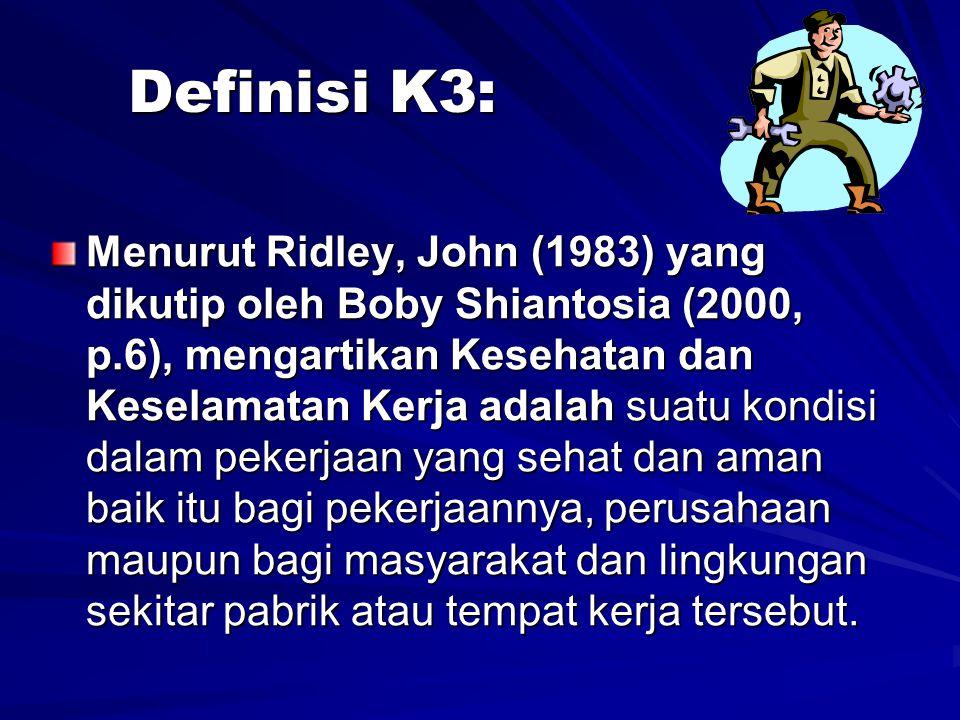 Definisi K3: