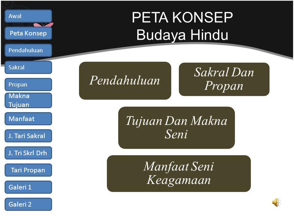 PETA KONSEP Budaya Hindu