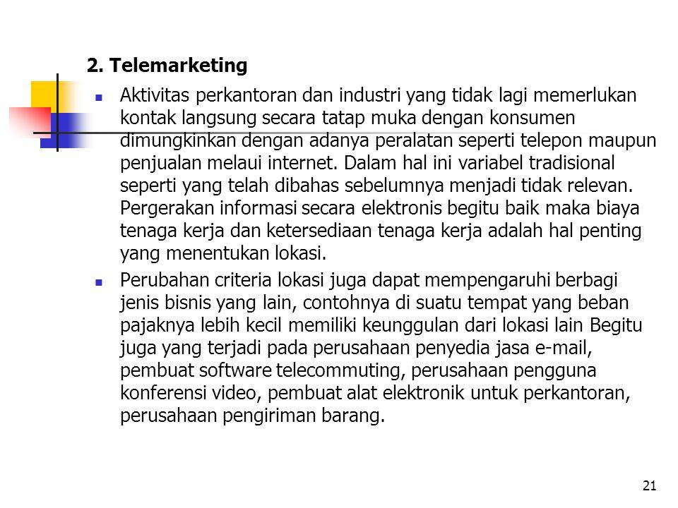 2. Telemarketing