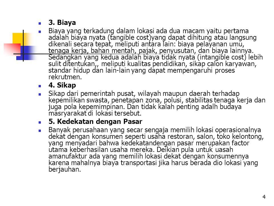 3. Biaya