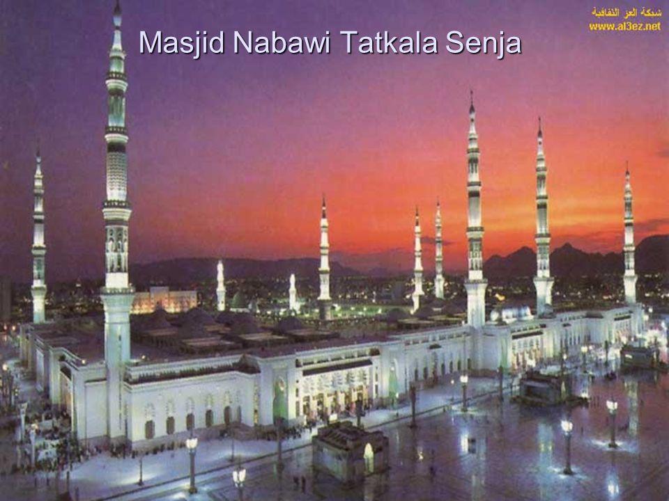 Masjid Nabawi Tatkala Senja