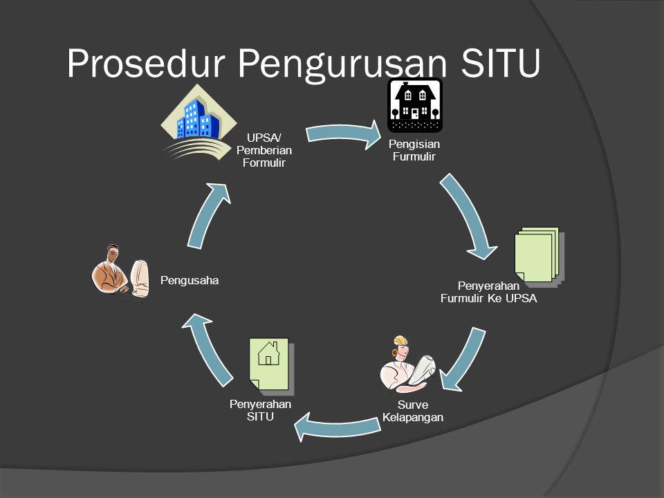 Prosedur Pengurusan SITU