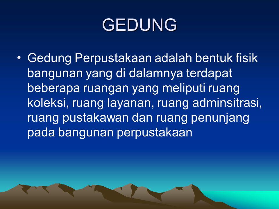 GEDUNG