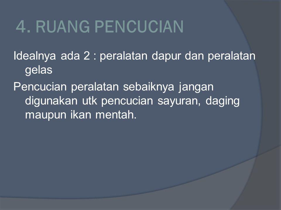 4. RUANG PENCUCIAN