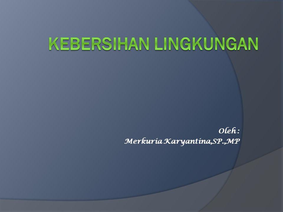 KEBERSIHAN LINGKUNGAN