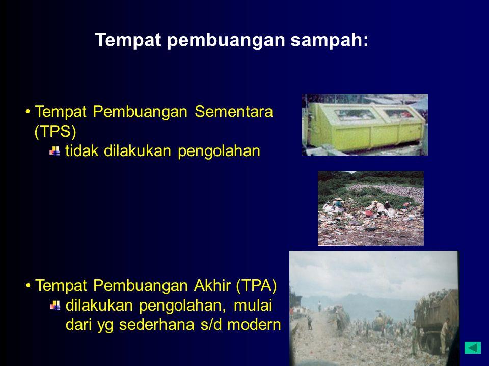 Tempat pembuangan sampah: