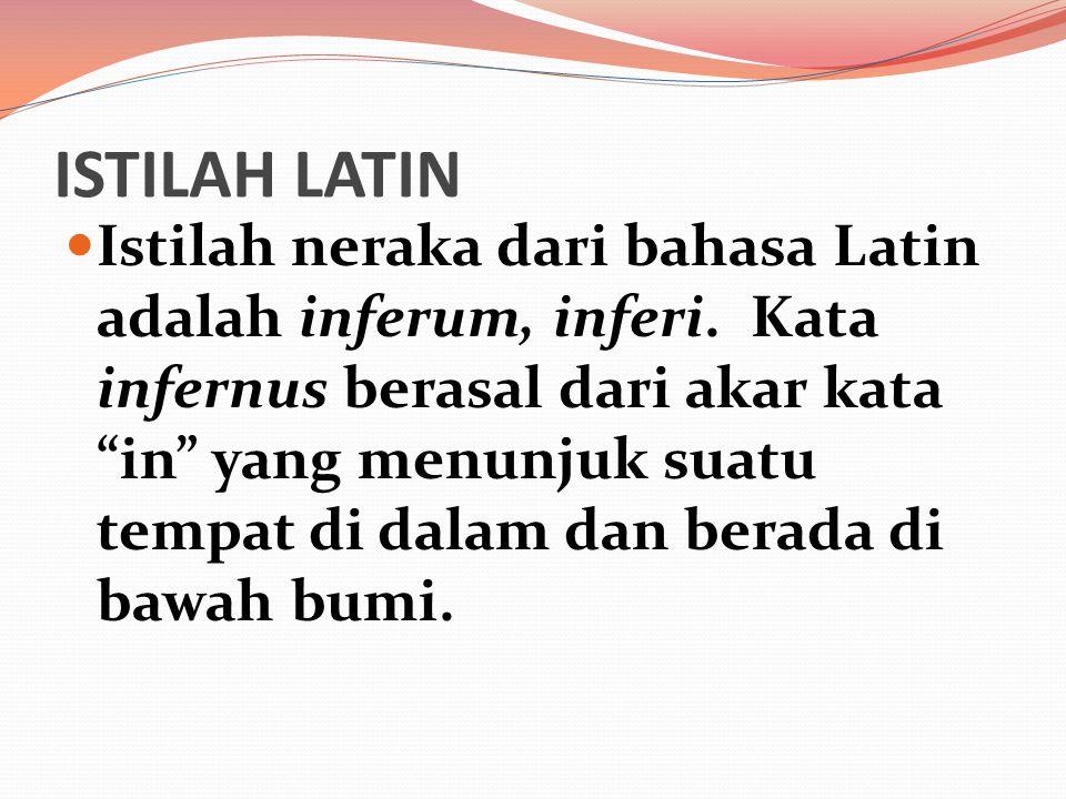 ISTILAH LATIN