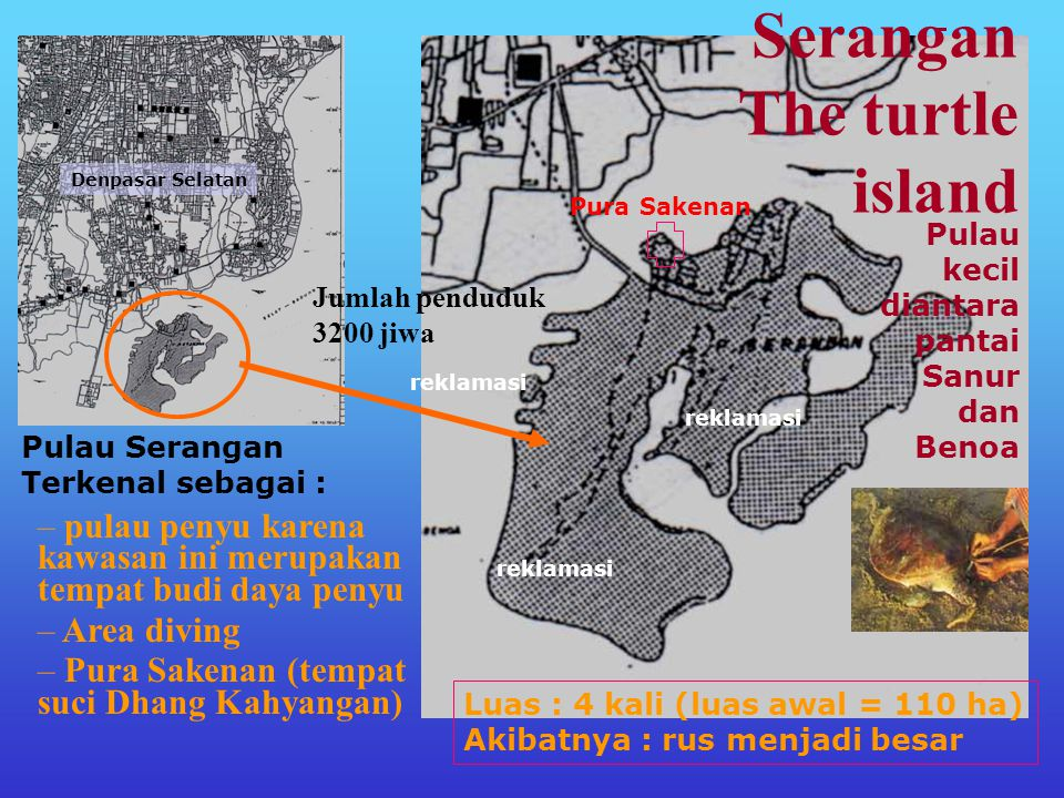 Serangan The turtle island