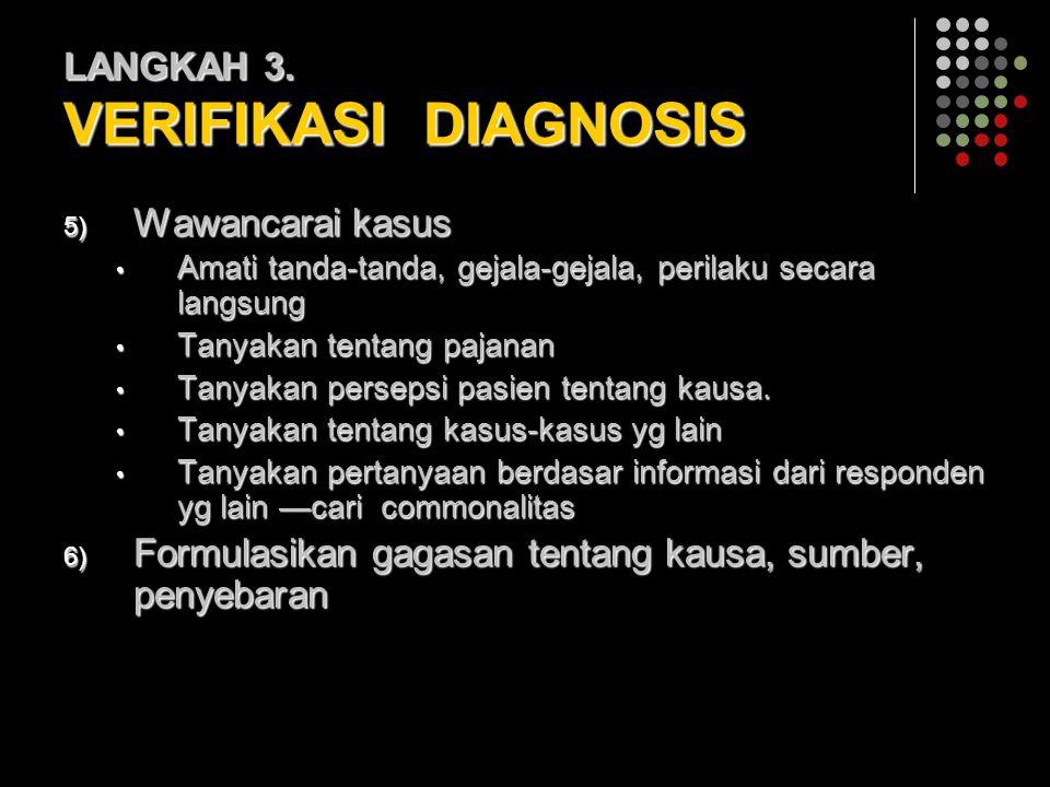 LANGKAH 3. VERIFIKASI DIAGNOSIS