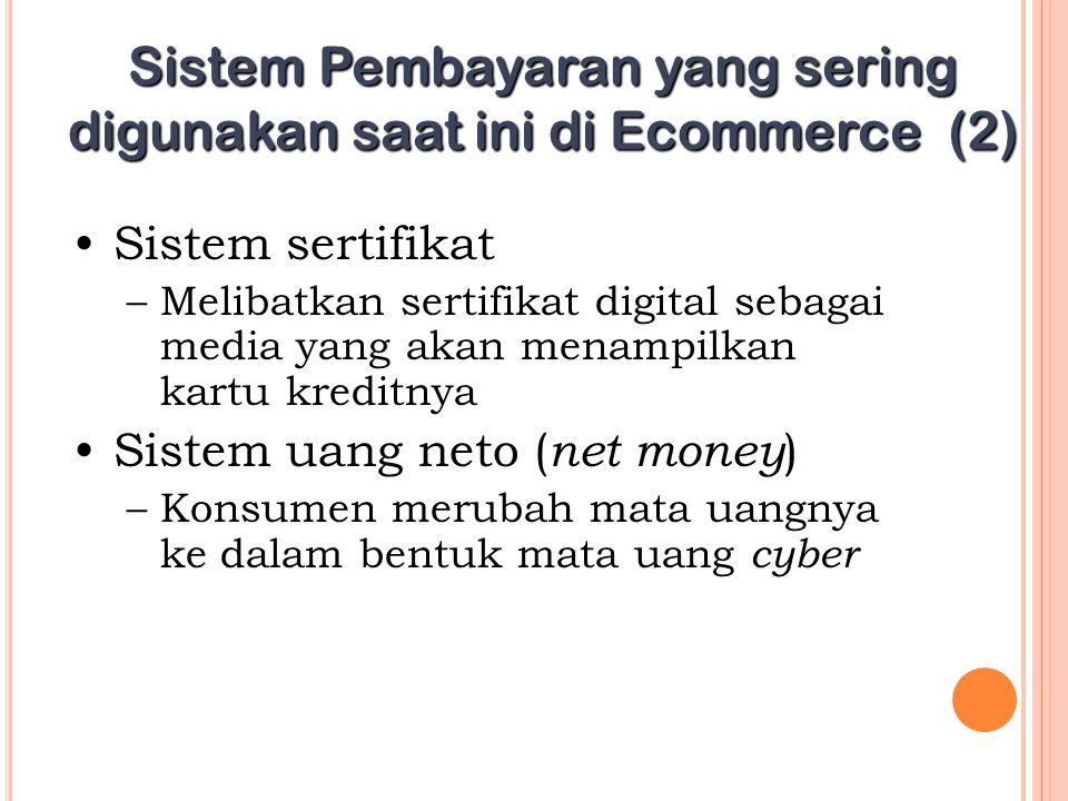 Sistem Pembayaran yang sering digunakan saat ini di Ecommerce (2)