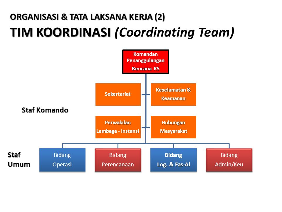 TIM KOORDINASI (Coordinating Team)