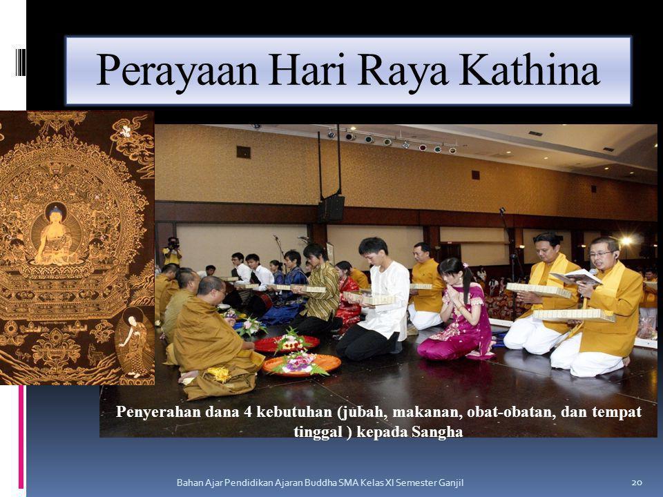Perayaan Hari Raya Kathina