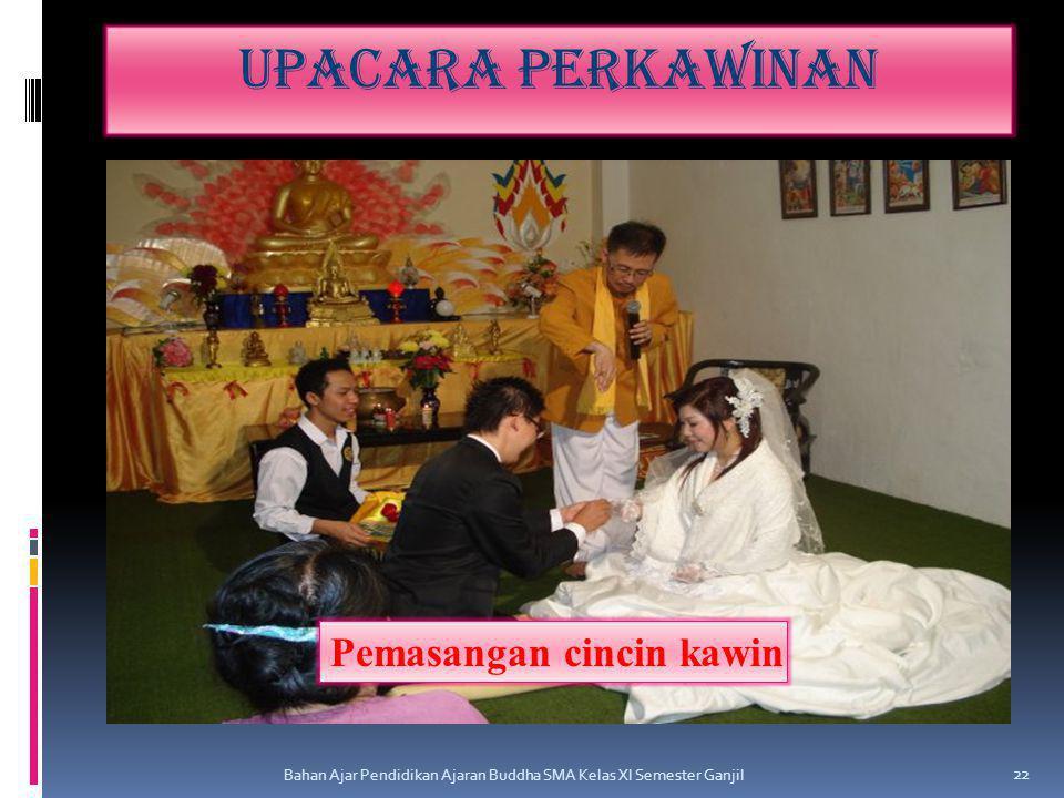 Upacara perkawinan Pemasangan cincin kawin