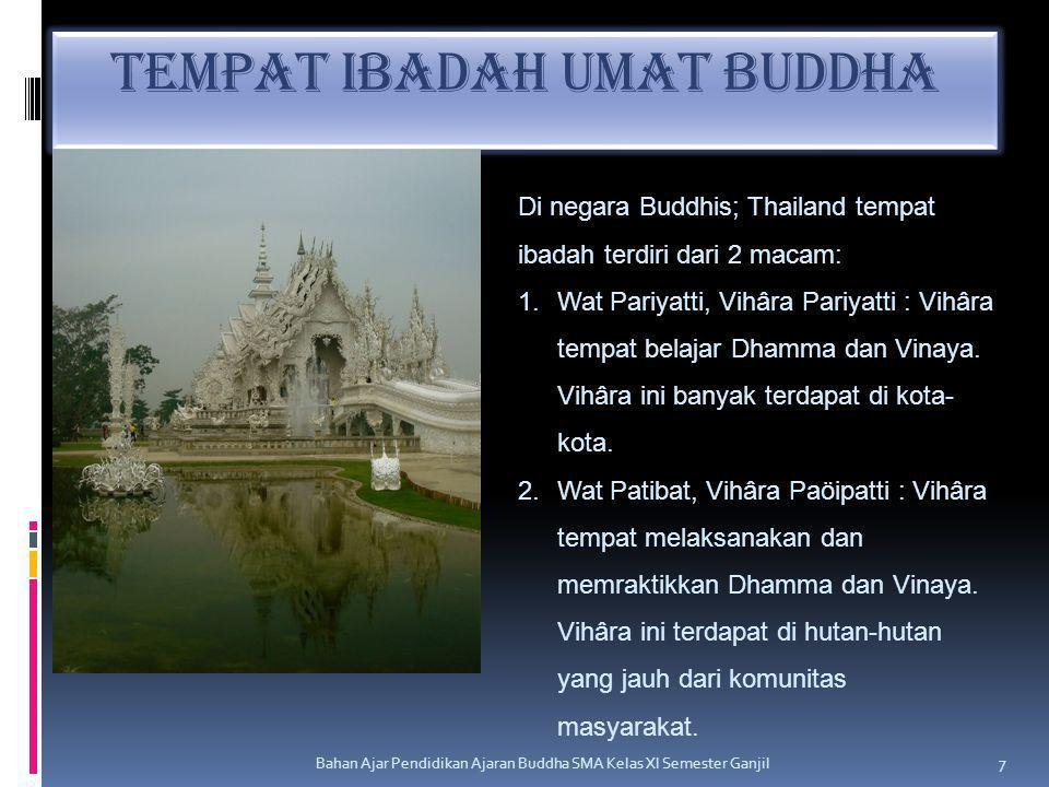 Tempat Ibadah Umat Buddha