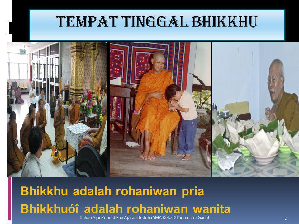 Tempat tinggal bhikkhu