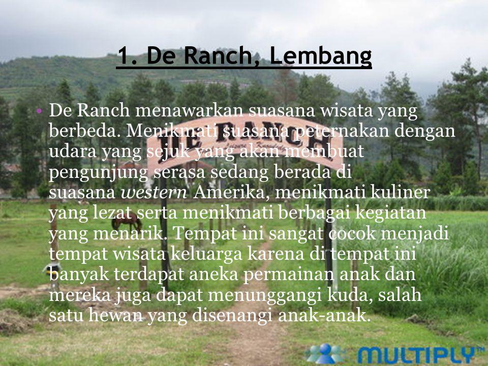 1. De Ranch, Lembang