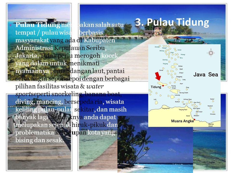 3. Pulau Tidung