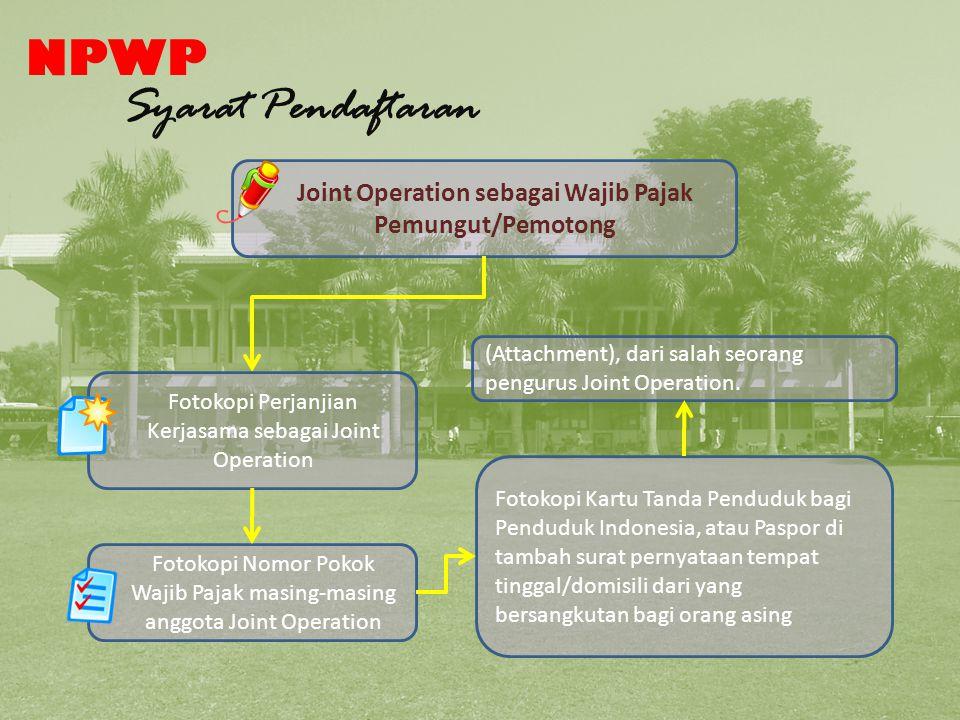 Syarat Pendafataran NPWP