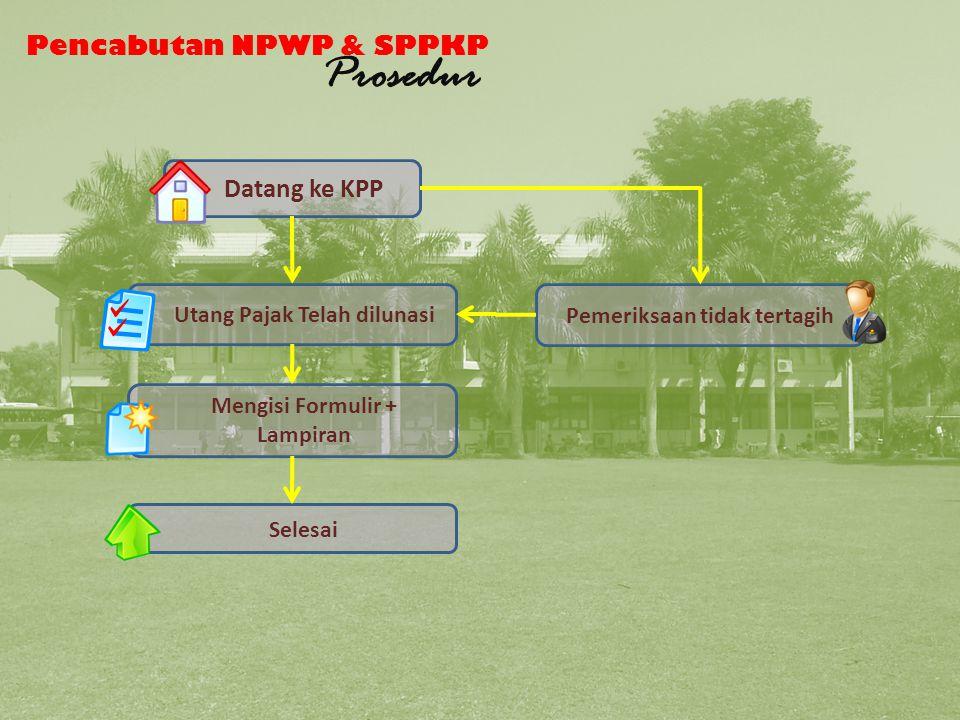 Pencabutan NPWP dan SPPKP