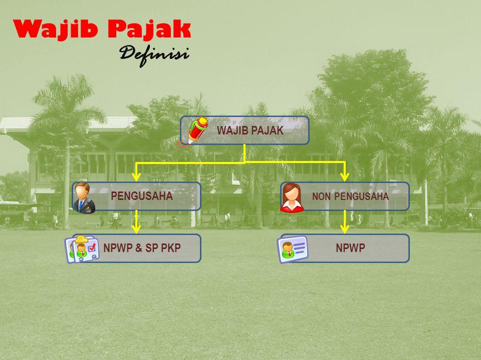 Bagan Wajib Pajak 2 Wajib Pajak Definisi WAJIB PAJAK PENGUSAHA