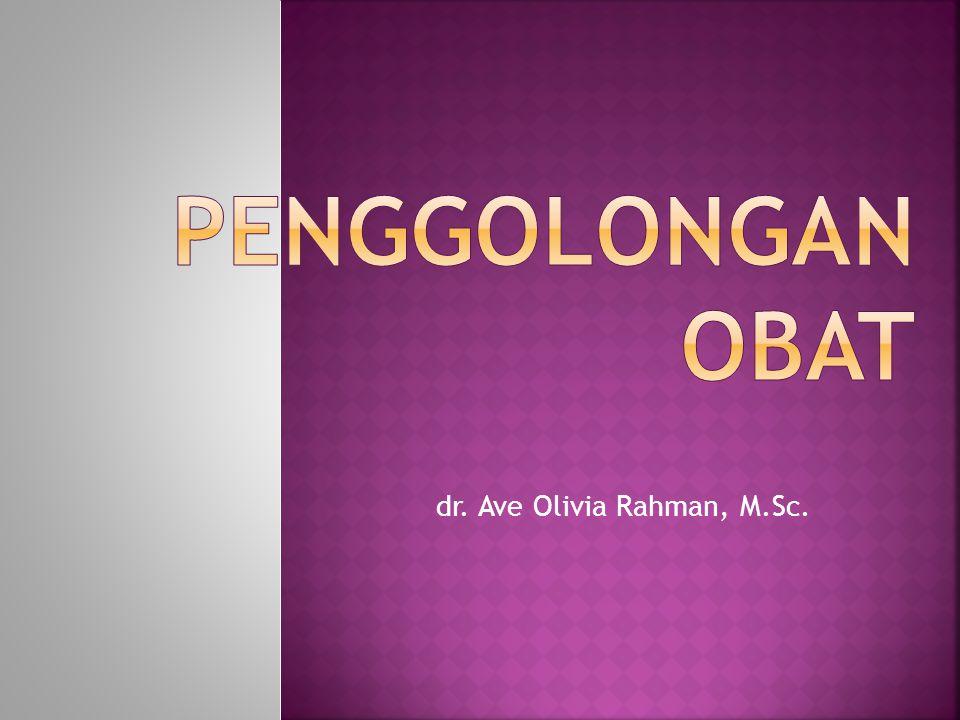 dr. Ave Olivia Rahman, M.Sc.