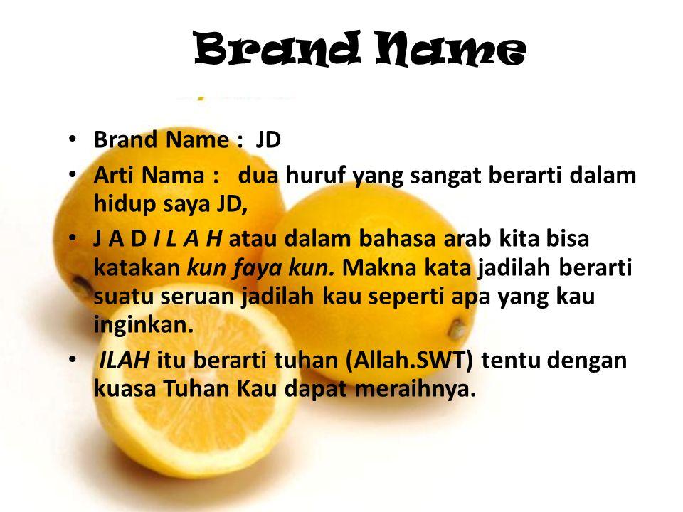 Brand Name Brand Name : JD