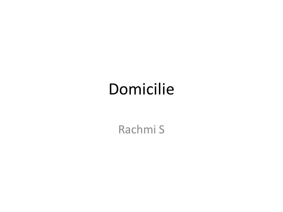 Domicilie Rachmi S