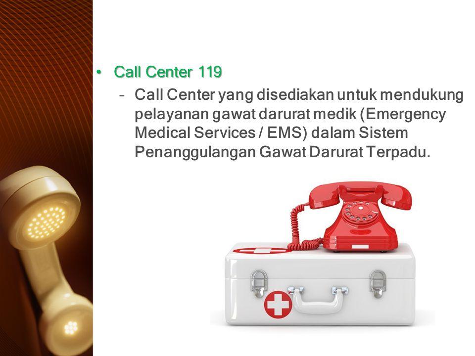 Call Center 119