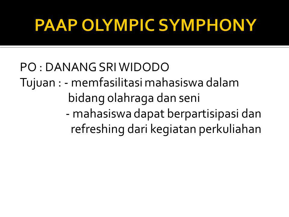 PAAP OLYMPIC SYMPHONY