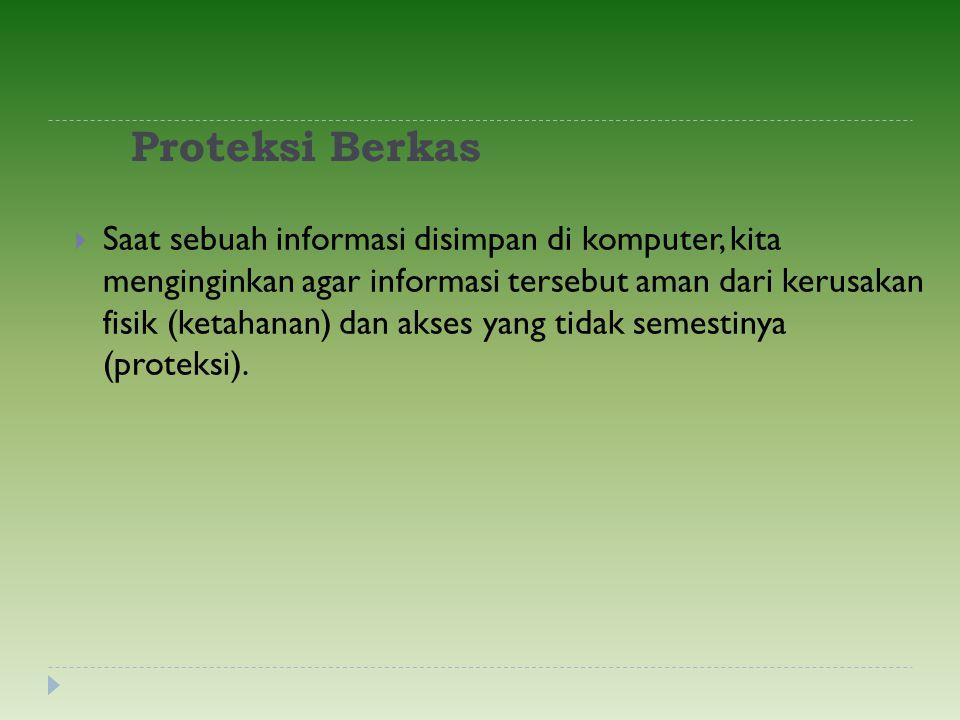 Proteksi Berkas
