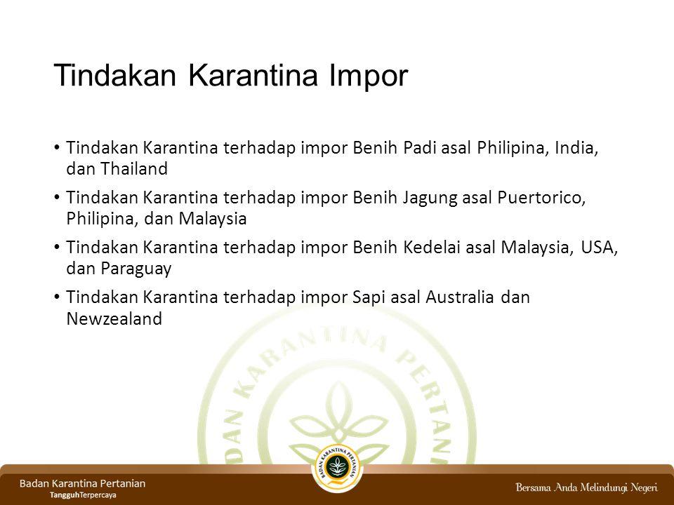 Tindakan Karantina Impor