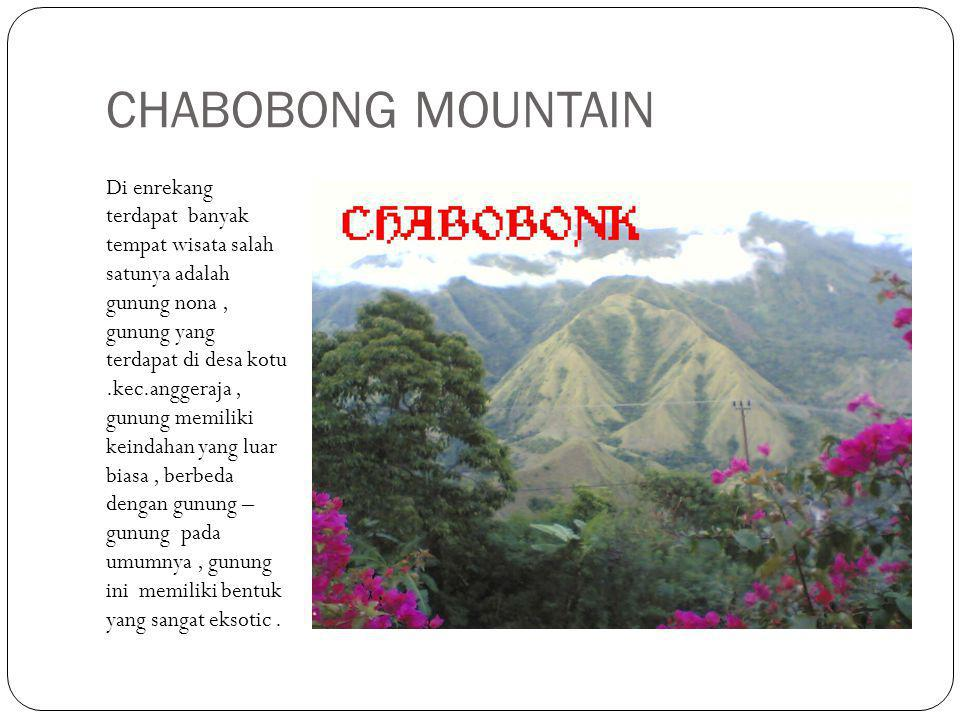 CHABOBONG MOUNTAIN