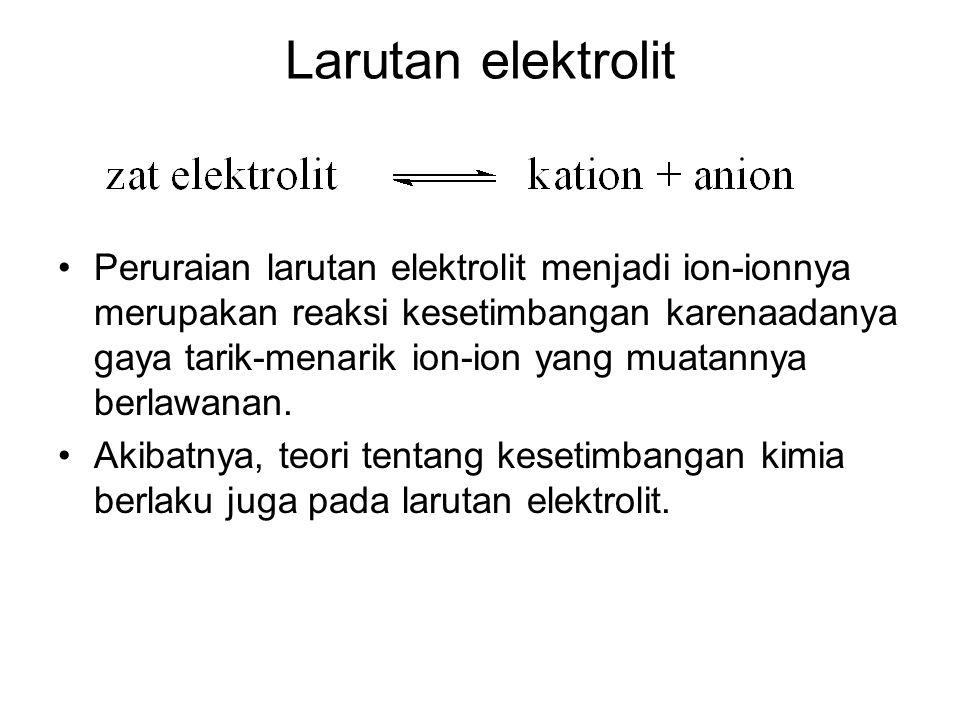 Larutan elektrolit