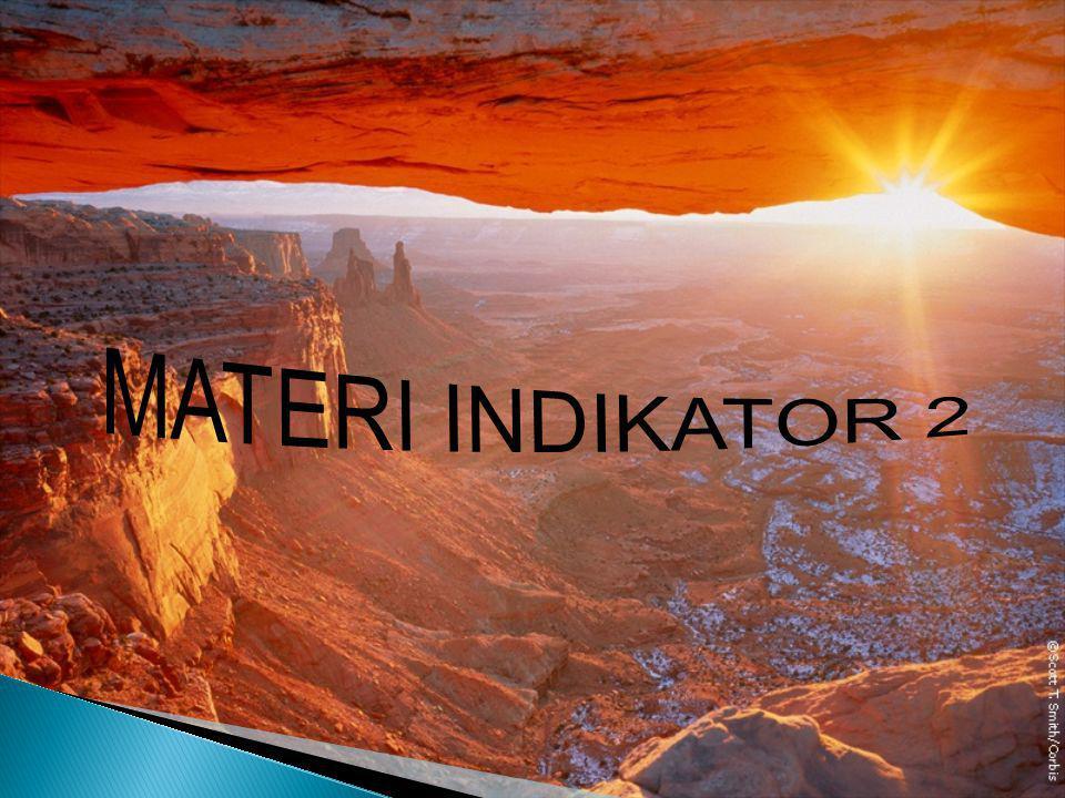 MATERI INDIKATOR 2