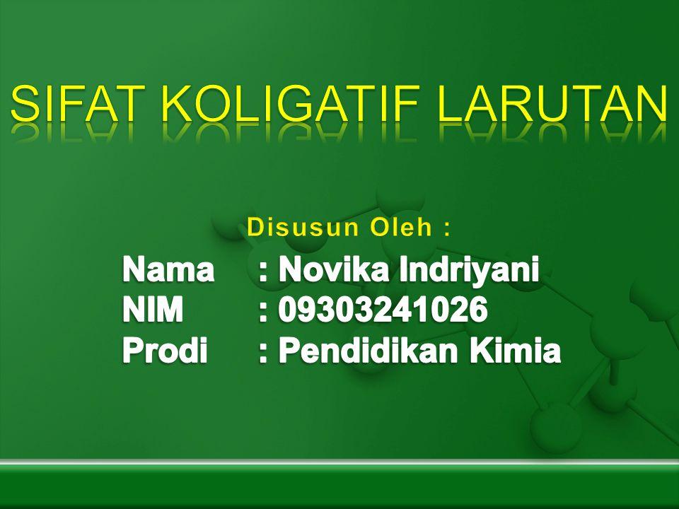 Sifat koligatif larutan ppt download sifat koligatif larutan ccuart Images