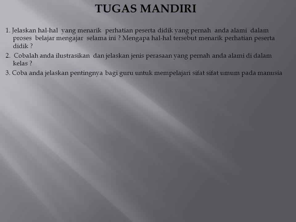 TUGAS MANDIRI