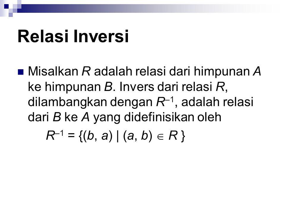 Relasi Inversi