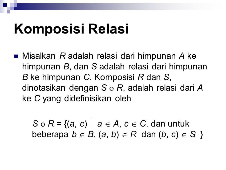 Komposisi Relasi